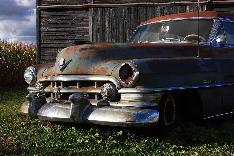 Cadillac Photograph - Retired by Lyle Hatch