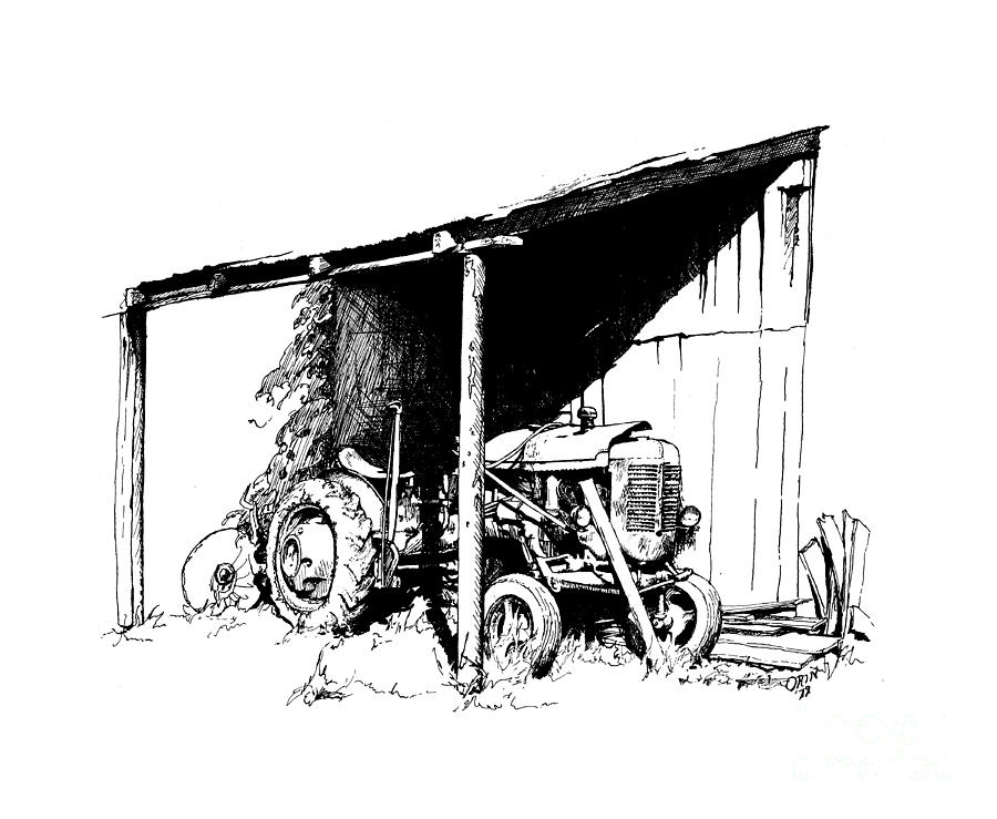 Retired Drawing - Replacement Pen And Ink by Steve Orin