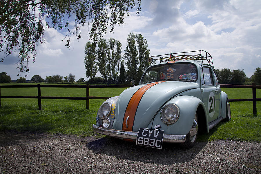 Retro Beetle 1 Photograph by Dan Livingstone