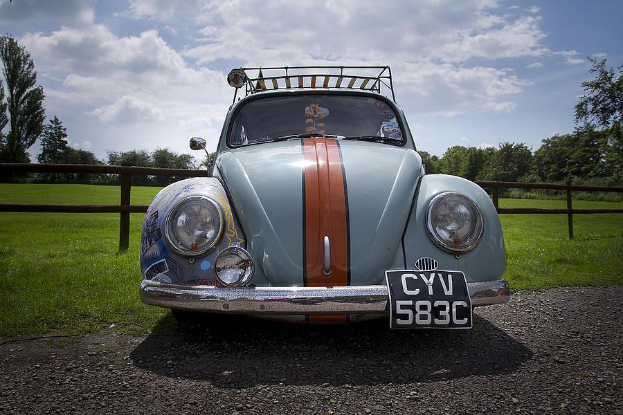 Vw Photograph - Retro Beetle 2 by Dan Livingstone