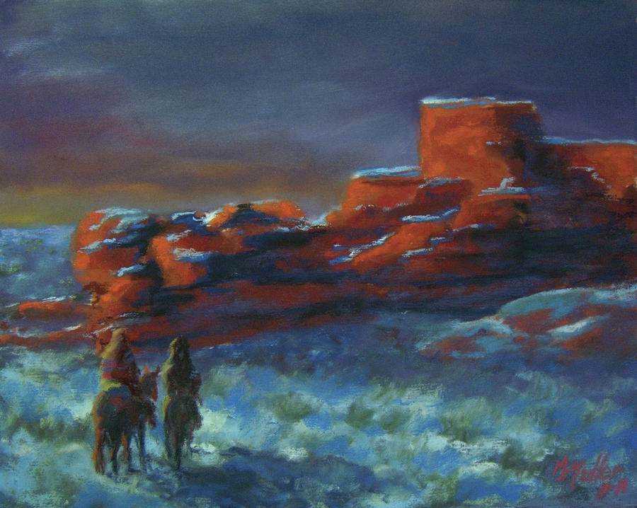 Navajo Pastel - Revisiting Old Places by Marcus Moller