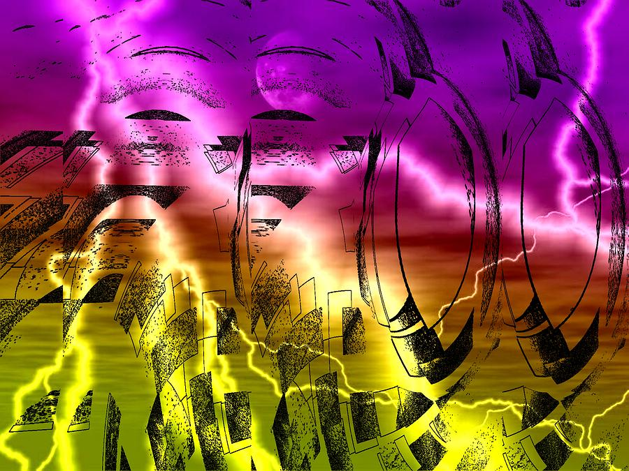 Revolution Digital Art by Beto Machado