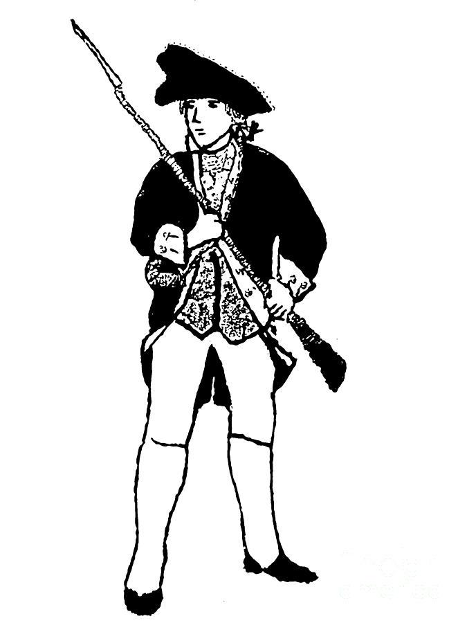 revolutionary war militia man photograph by susan carella rh fineartamerica com Revolutionary War Battles American Revolutionary War