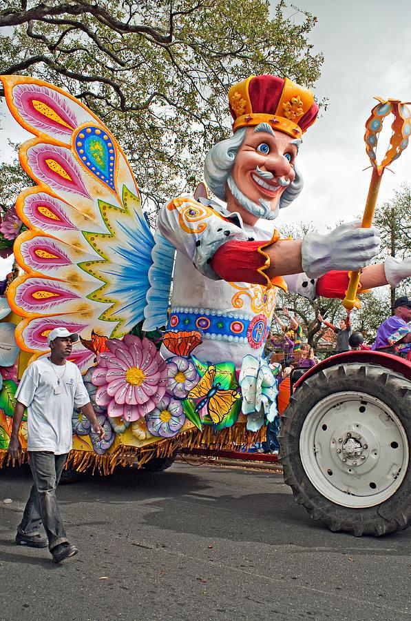 New Orleans Photograph - Rex Mardi Gras Parade IIi by Steve Harrington