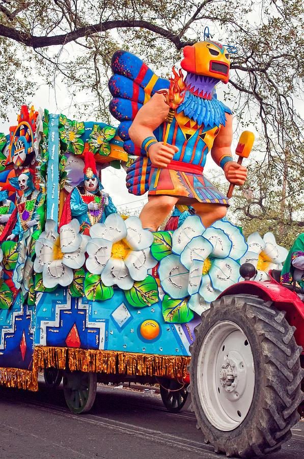 Nola Photograph - Rex Mardi Gras Parade V by Steve Harrington