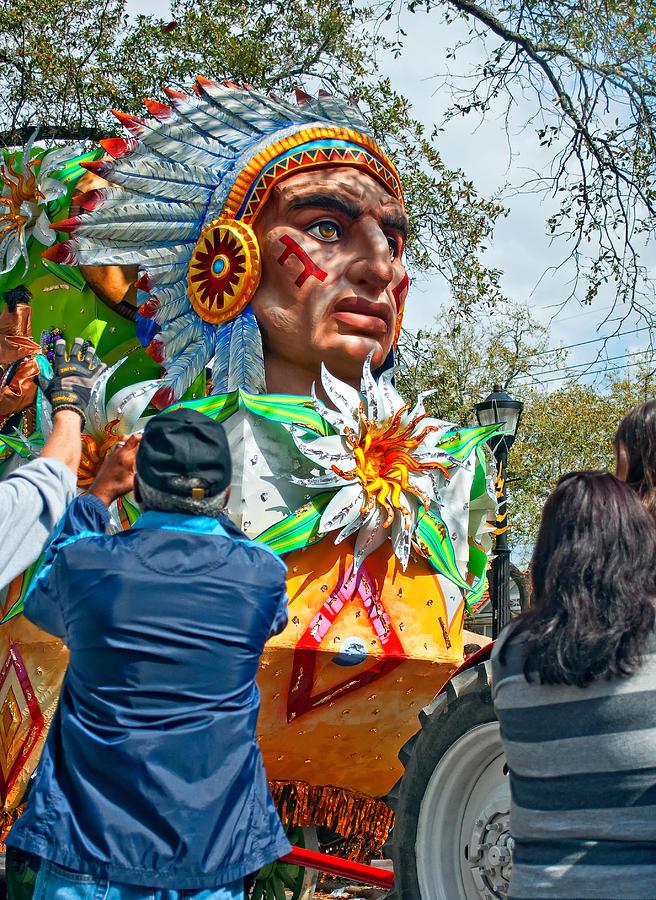New Orleans Photograph - Rex Mardi Gras Parade Vii by Steve Harrington