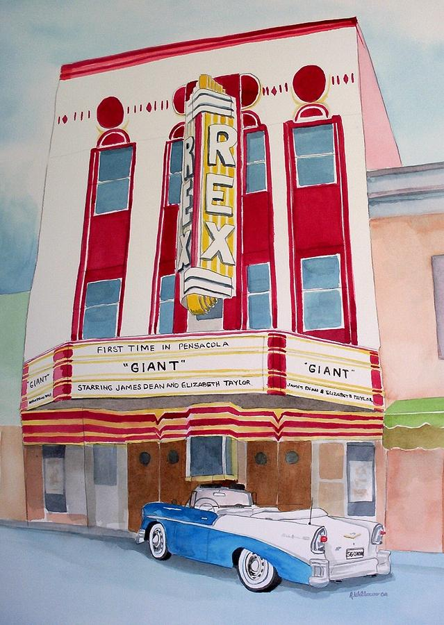 Rex Theater by Richard Willows