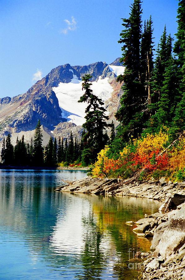 Lake Photograph - Rhor Lake by Frank Townsley