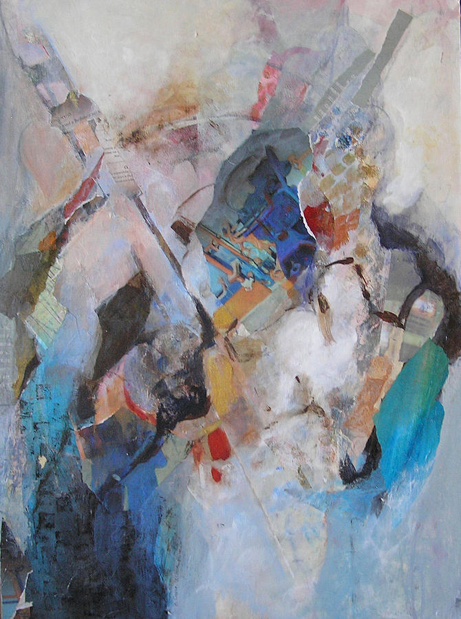 Abstract Mixed Media - Rhythms Of Life I by Barbara Couse Wilson