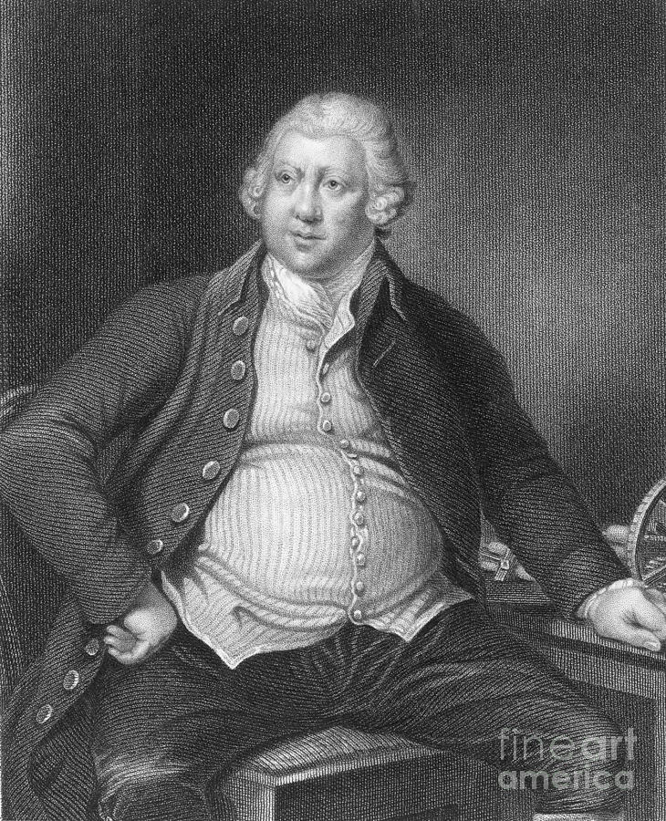 History Photograph - Richard Arkwright, English Industrialist by Photo Researchers