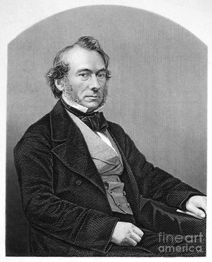 19th Century Photograph - Richard Cobden (1804-1865). /nenglish Politician And Economist. Steel Engraving, English, 19th Century by Granger