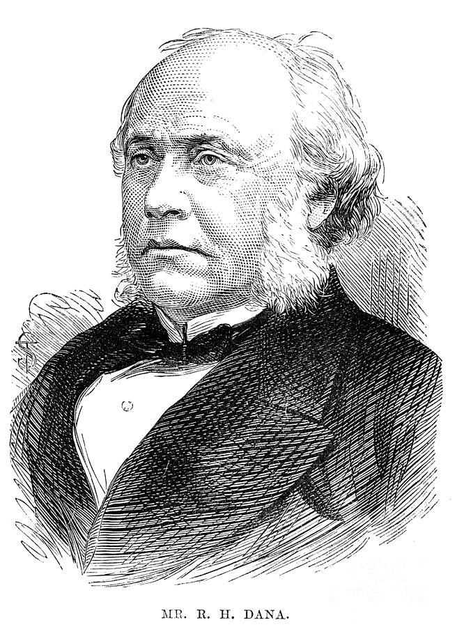1876 Photograph - Richard Henry Dana by Granger