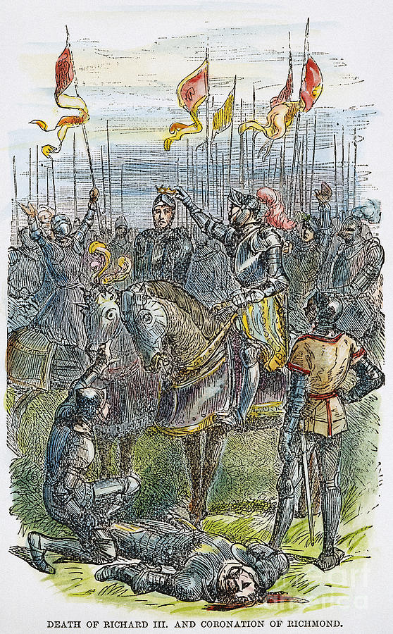 1485 Photograph - Richard IIi At Bosworth by Granger