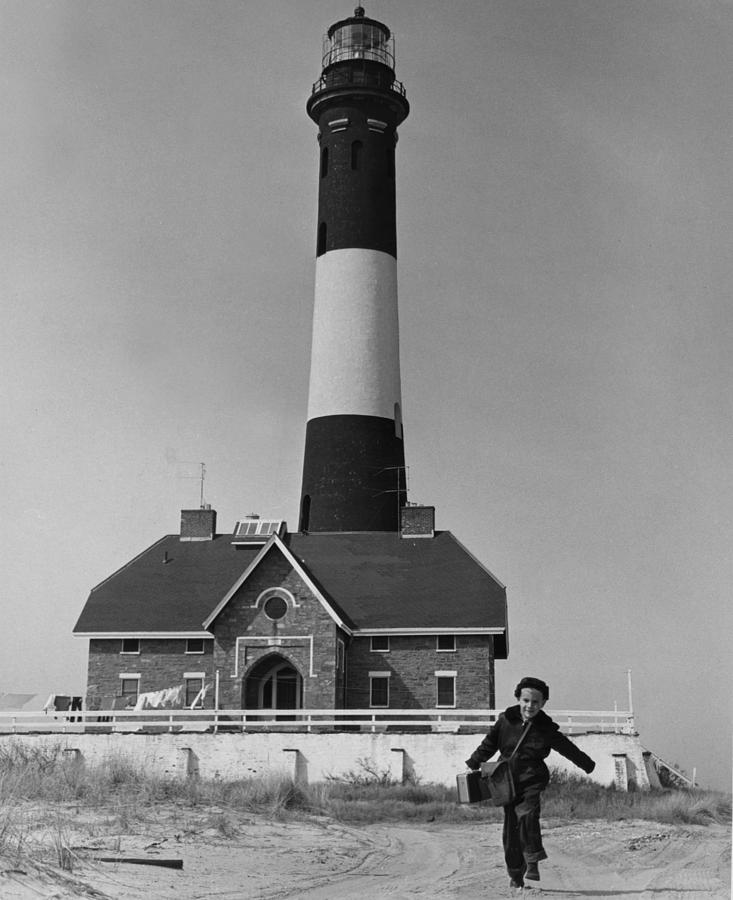 1950s Photograph - Richard Mahler, Is The Fire Island by Everett