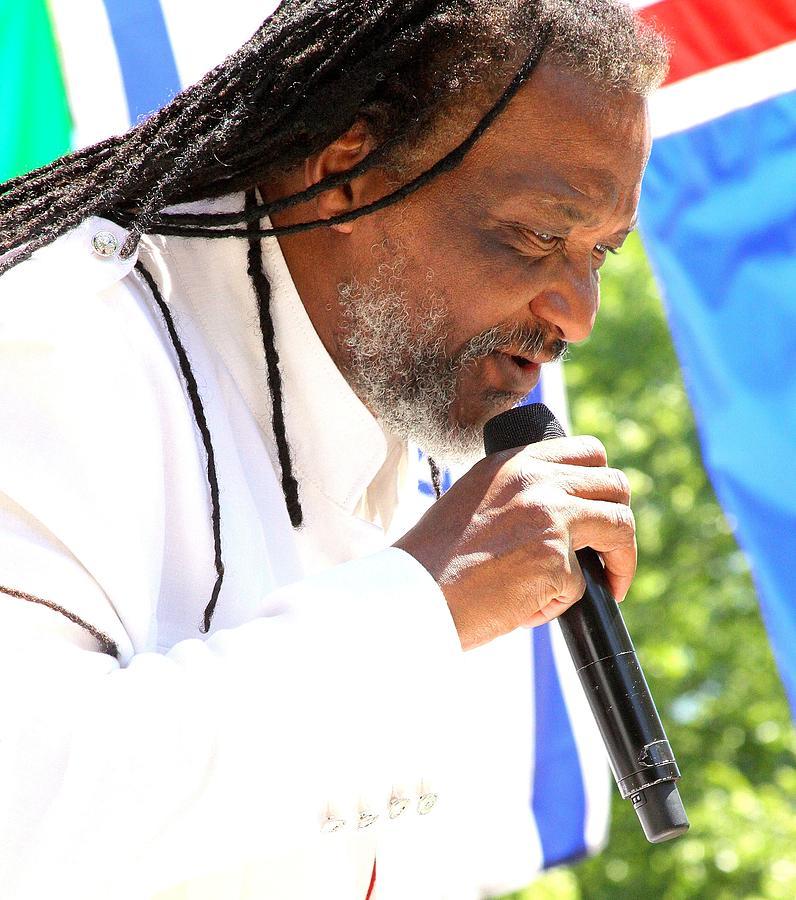 Reggae Photograph - Richard Omar by Kenneth Mucke