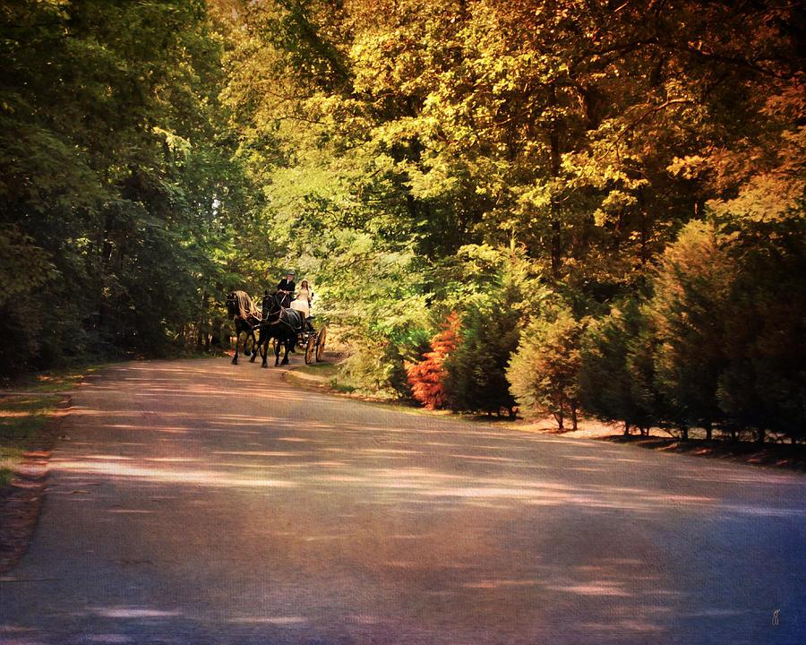 Autumn Photograph - Ride At Timbers Farm by Jai Johnson