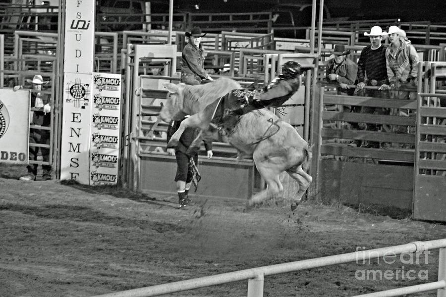Bull Riding Photograph - Ride em Cowboy by Shawn Naranjo