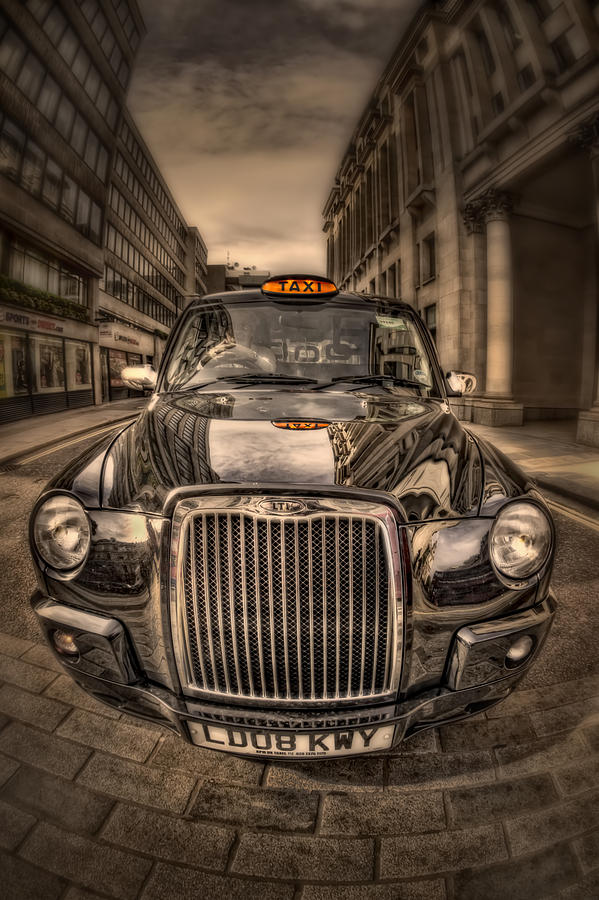 London Photograph - Ride With Me by Evelina Kremsdorf