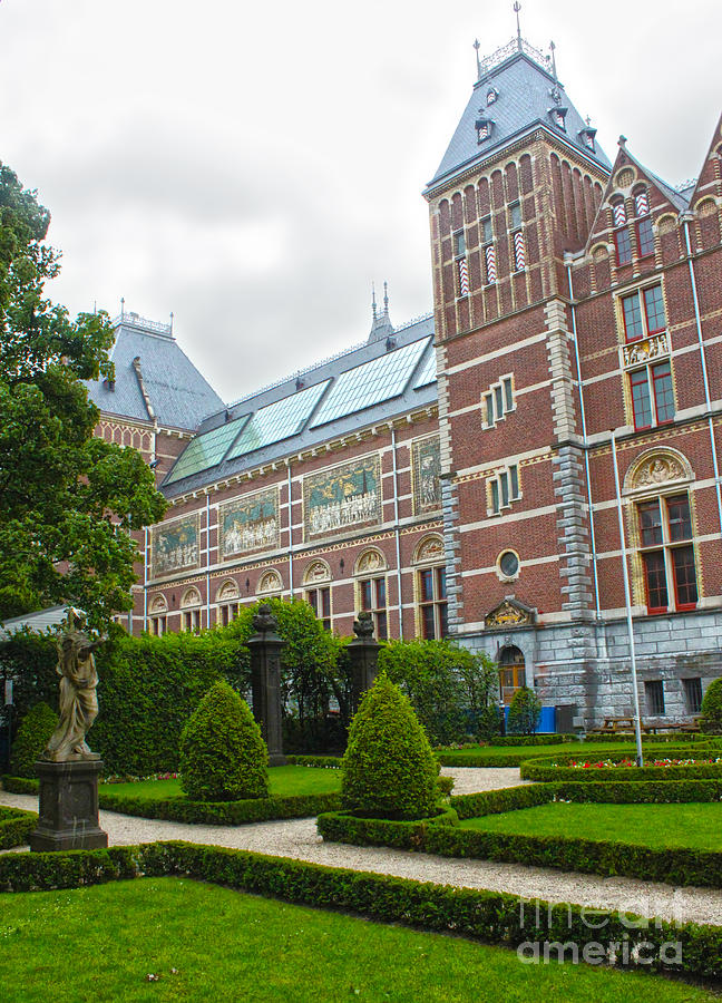 Amsterdam Photograph - Rijksmuseum- 02 by Gregory Dyer