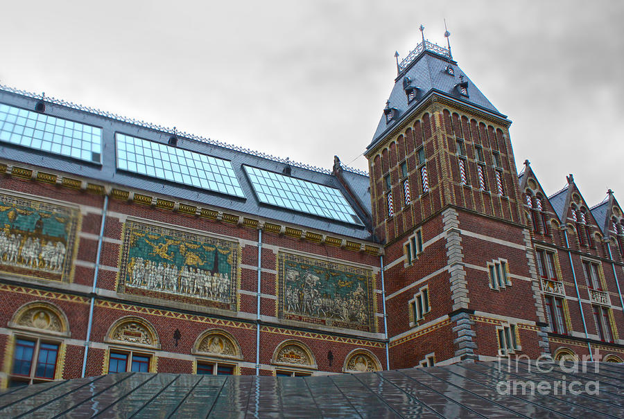 Amsterdam Photograph - Rijksmuseum- 03 by Gregory Dyer
