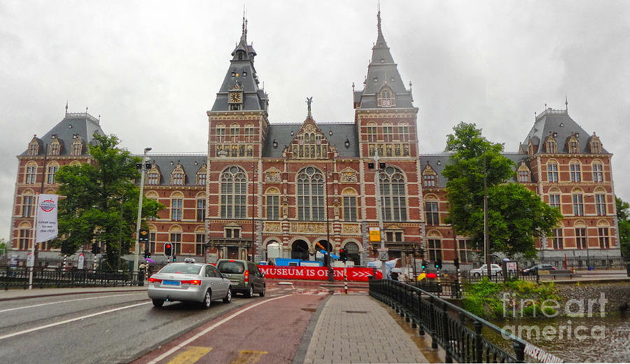 Amsterdam Photograph - Rijksmuseum- 06 by Gregory Dyer