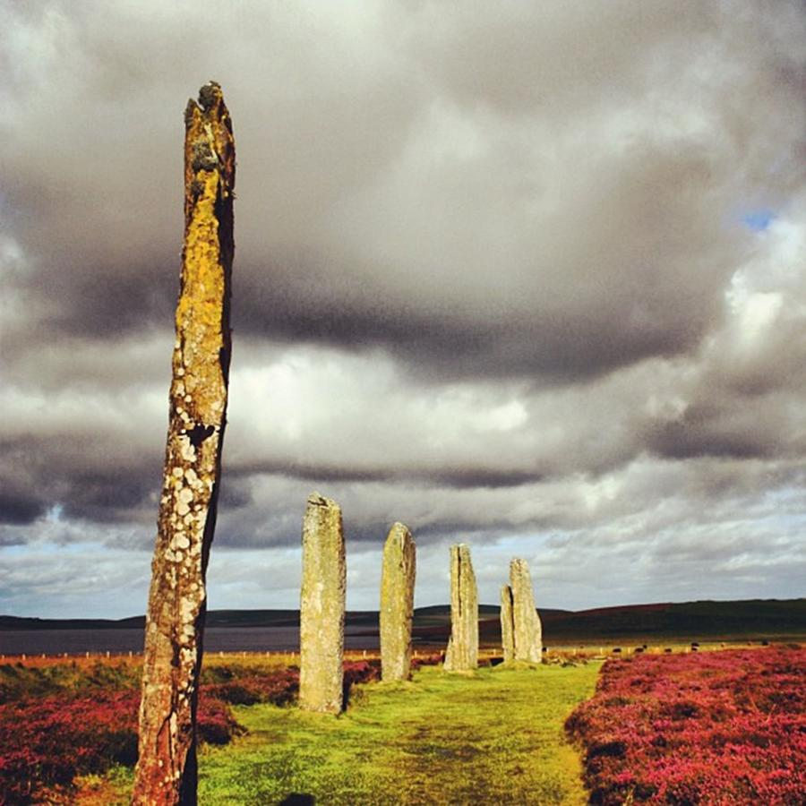 Scotland Photograph - Ring Of Brodgar by Luisa Azzolini