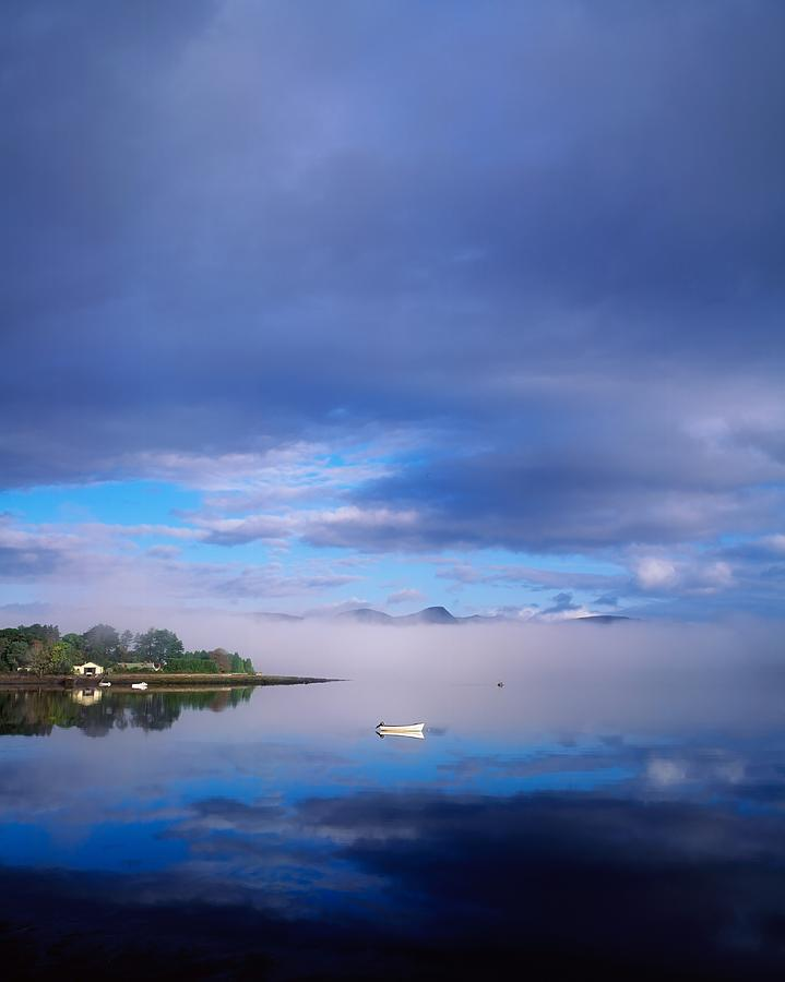 Beauty In Nature Photograph - Ring Of Kerry, Dinish Island Kenmare Bay by The Irish Image Collection