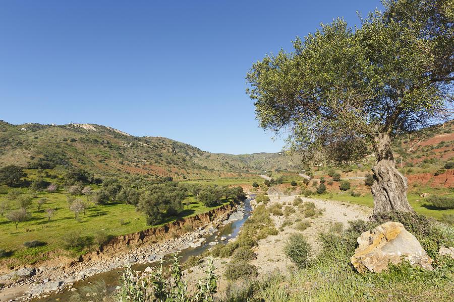 Horizontal Photograph - Rio De Cauche, Malaga Province, Spain. by Ken Welsh