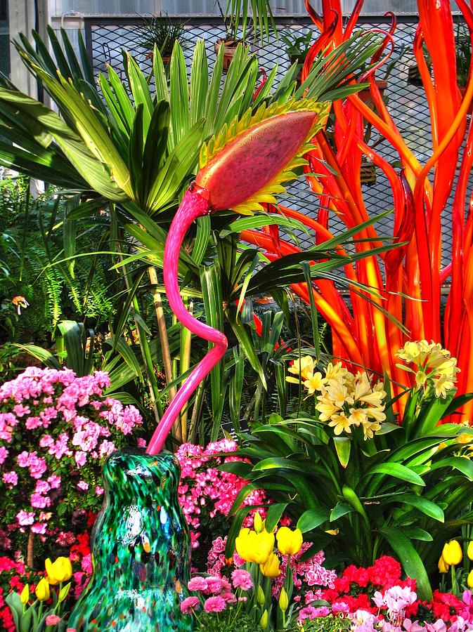 Art Glass Photograph - Riotous Color by Chris Anderson