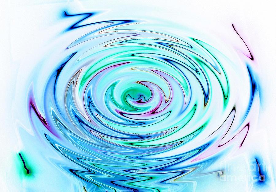 Ripple Digital Art - Ripple by Glimpses Prasad Datar-Archana Padhye Photography