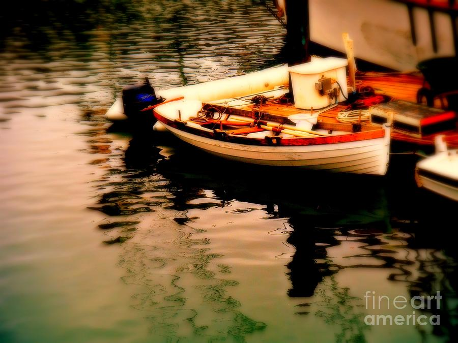 Boats Photograph - Ripples And Reflections by Kevin Moore