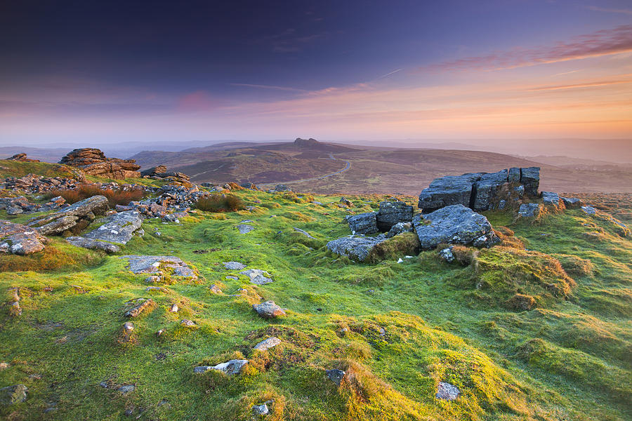 England Photograph - Rippon Tor by Sebastian Wasek