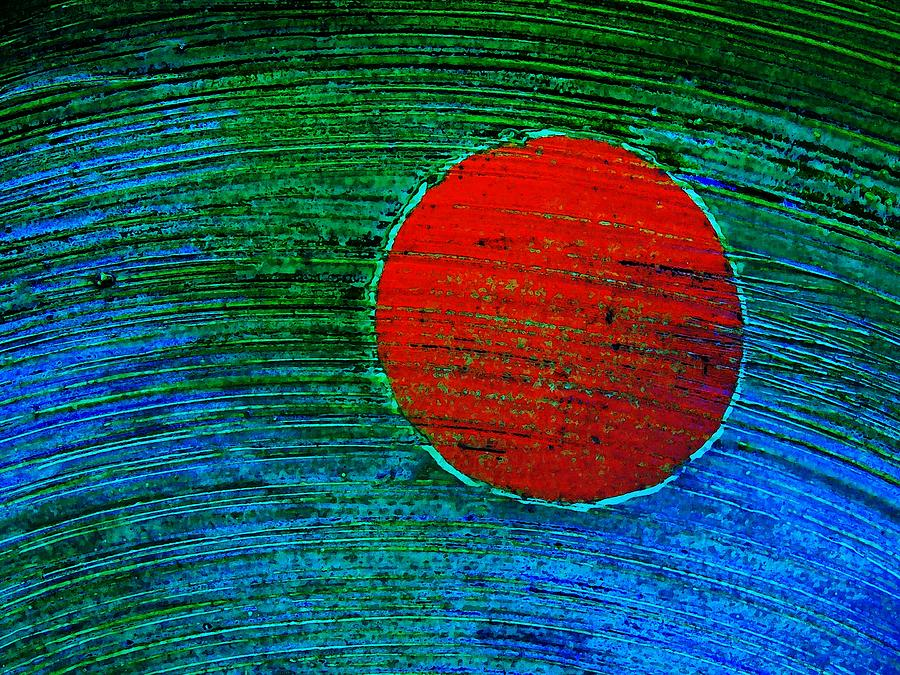 Abstract Photograph - Rising Sun by Marcia Lee Jones