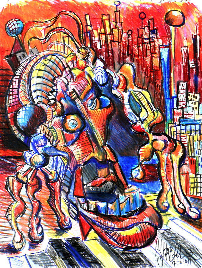 Risperdal Drawing - Risperdal  by Jon Baldwin  Art