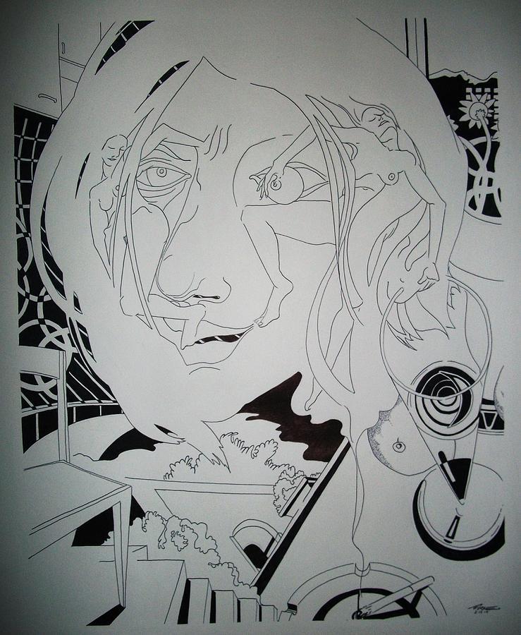 Risvegli Al Sole Drawing by Torre Mariano