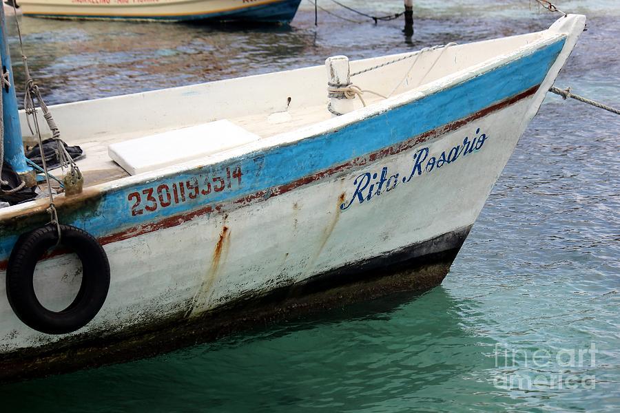 Boat Photograph - Rita Rosario by Sophie Vigneault