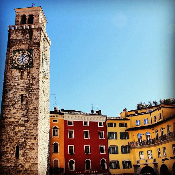 City Photograph - Riva Del Garda by Luisa Azzolini