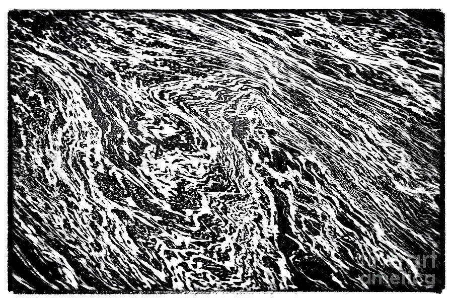 River Abstract Photograph - River Abstract by John Rizzuto