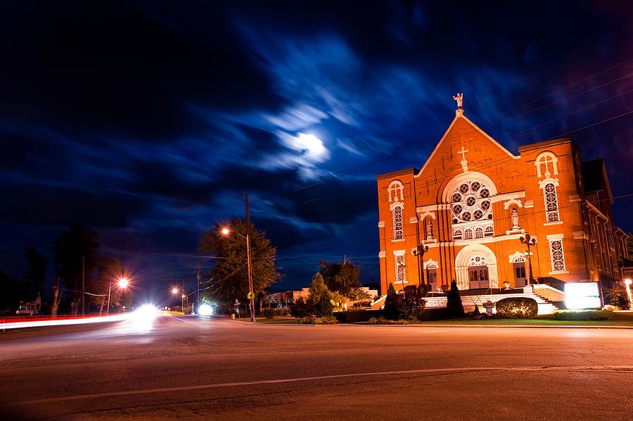 River Canard Church Photograph