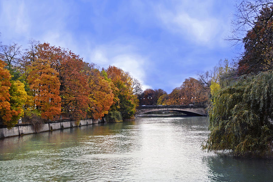 Riverside Trees Photograph - River Colors by Anthony Citro