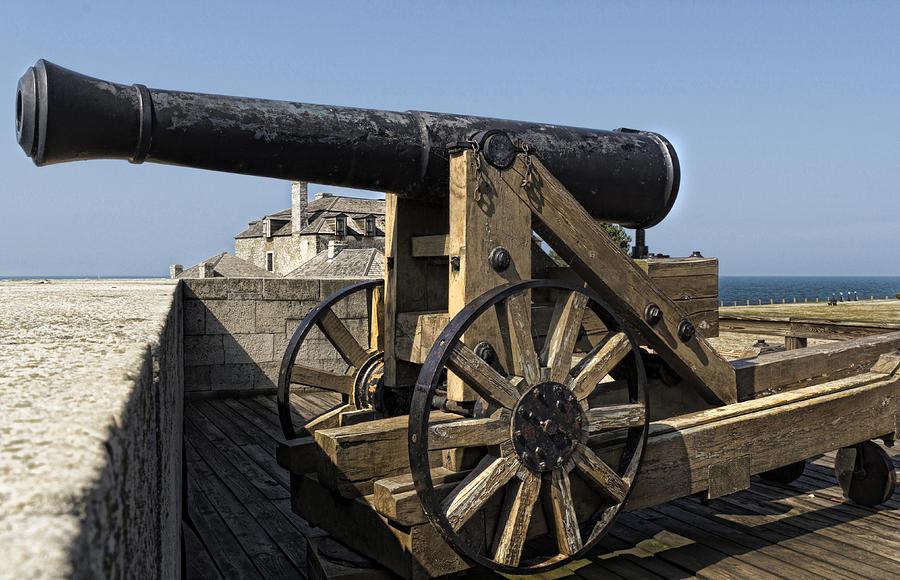 Old Fort Niagara Photograph - River Defense by Peter Chilelli