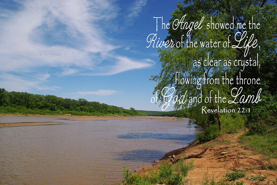 River Of The Water Of Life Photograph by Robyn Stacey