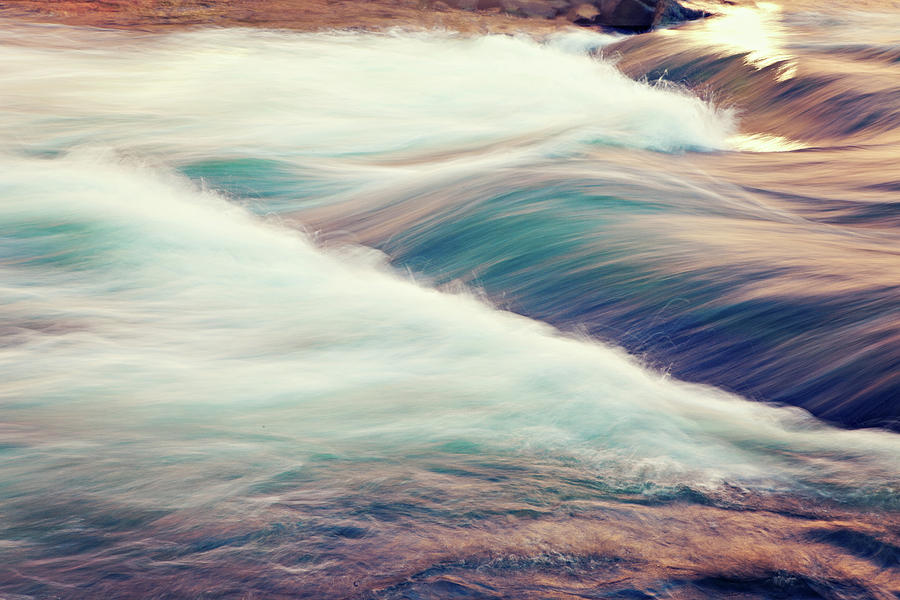 Horizontal Photograph - River Rapids by Isabelle Lafrance Photography