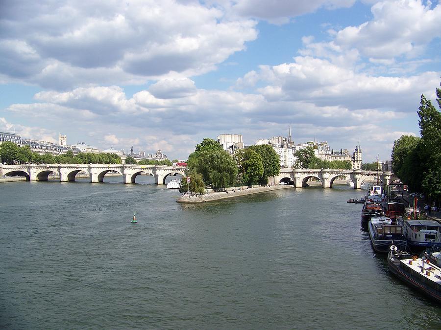 River Seine Photograph by Maggie Cruser