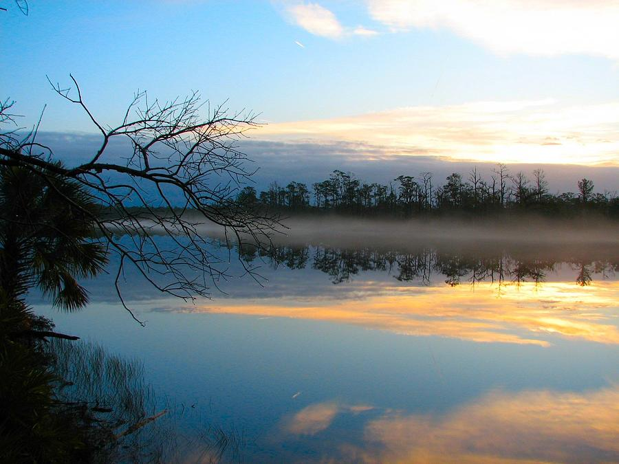 River Sunrise Photograph by Don L Williams