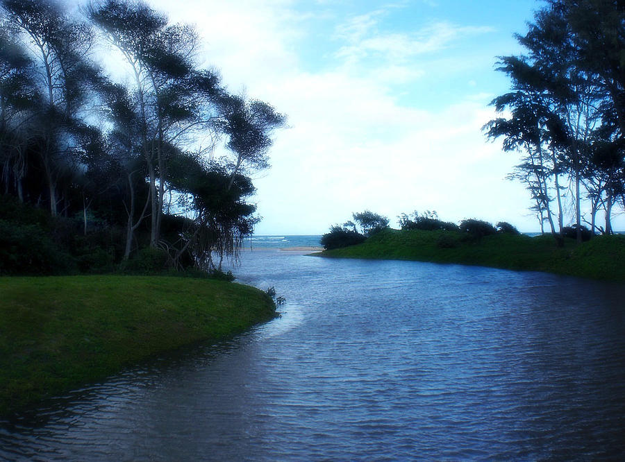 Hukilau Photograph - River to Hukilau by Ruth Kongaika