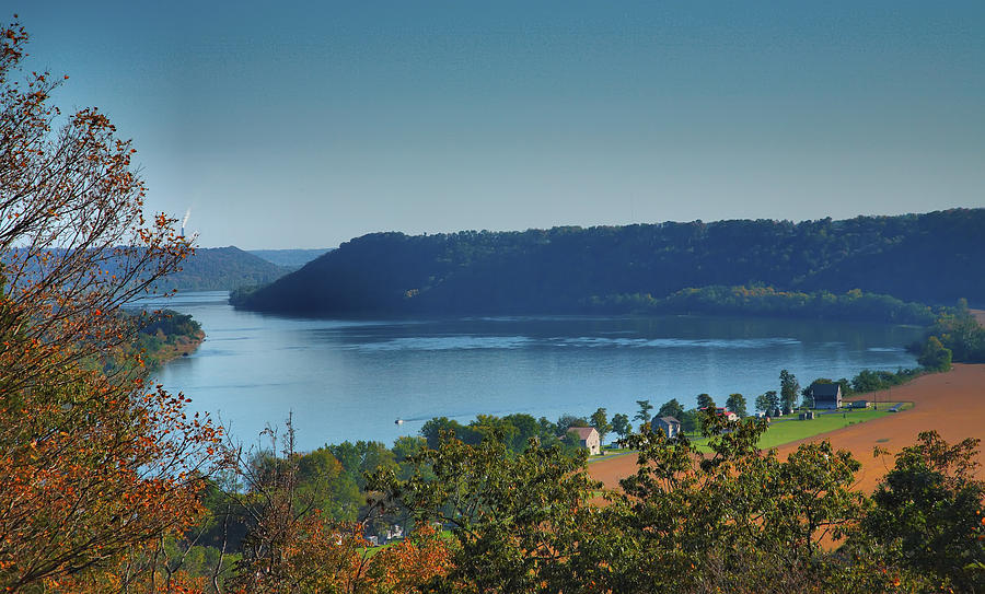 Scenic Photograph - River View IIi by Steven Ainsworth