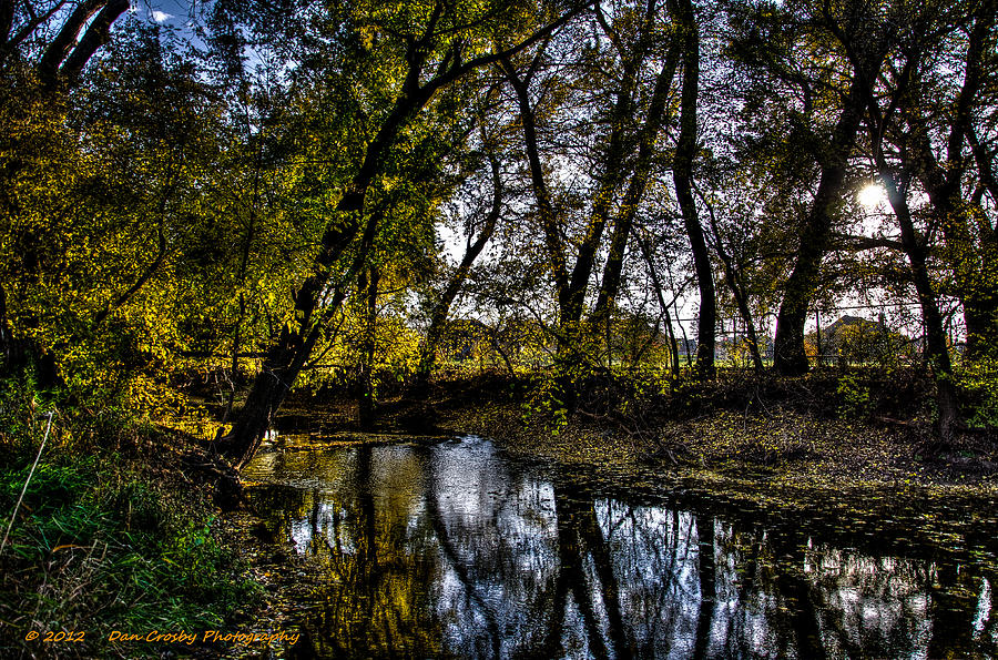 Landscape Photograph - Rivers Edge by Dan Crosby