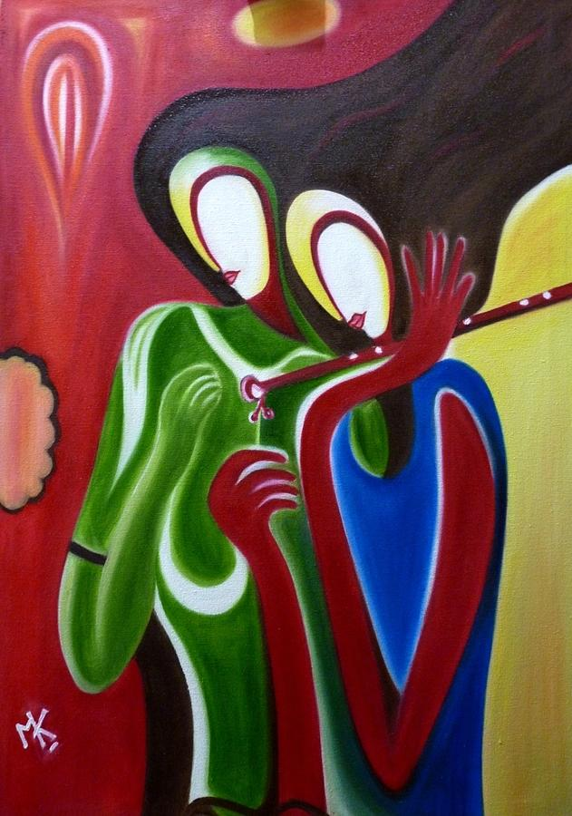 RK Painting by Maneesh Kumar