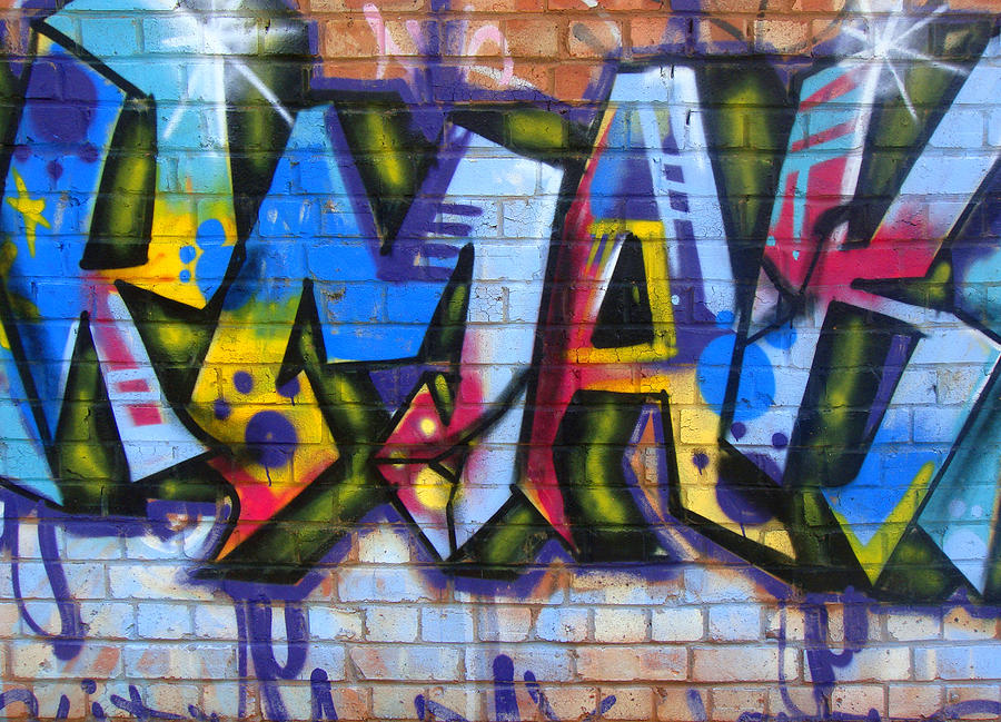Graffiti Photograph - Rmak by Roberto Alamino